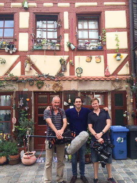 Some great place to do filming  in Fürth