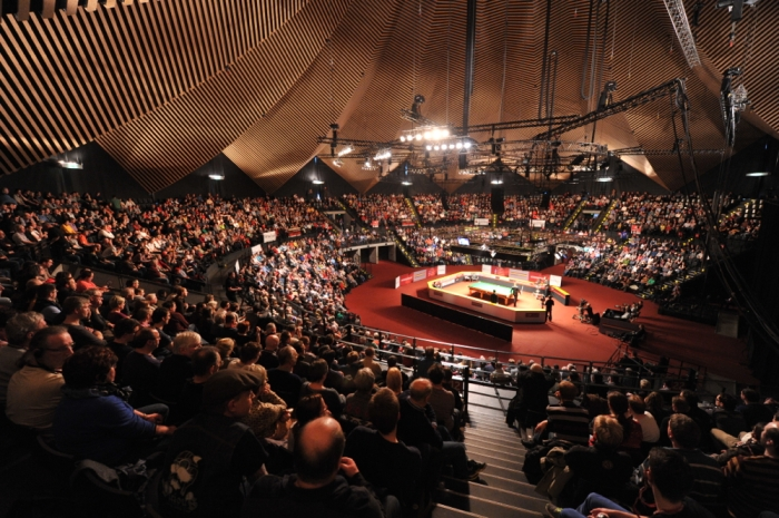 BERLIN AND THE TEMPODROM TAKE CENTRE STAGE