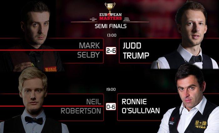 European Masters 2016 – Day 6 – Semi Finals | Ronnie O'Sullivan