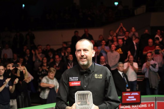 Mark Williams NIO Champion 2017