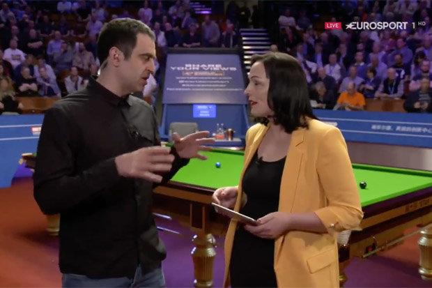 ronnie-o-sullivan-Eurosport 2018