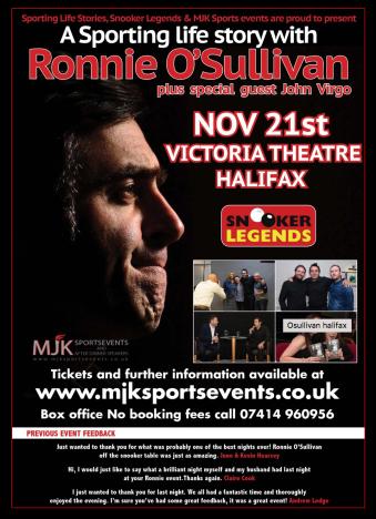Halifax - Victoria Theatre - 21 November 2018