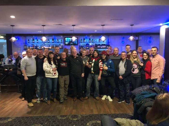 Worldsnooker Xmas Meal 2018