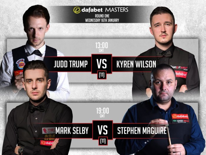 Masters 2019 - Day 4 line-up