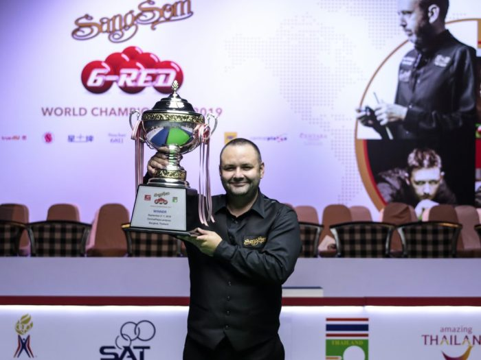 Stephen Maguire six reds champion 2019