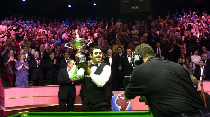 Ronnie first World Title