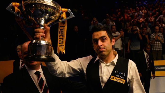 Ronnie 2013 World Title