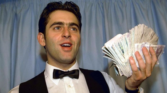 Ronnie first 147 money