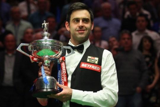 Ronnie 2012 Champion