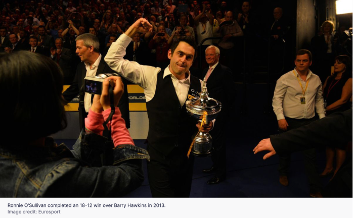 Ronnie 2013 World Champion