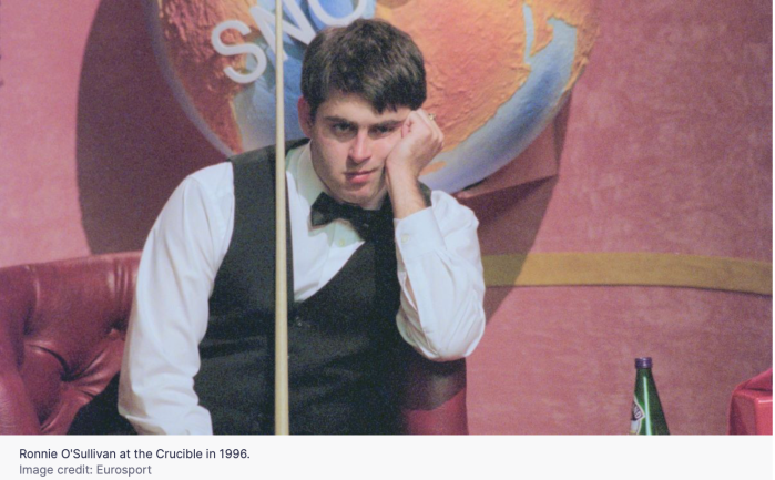 Young Ronnie Crucible 1996