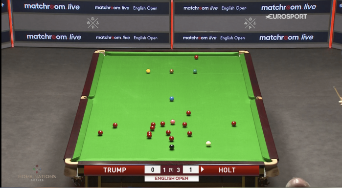 Trump Holt table English Open 2020 R3