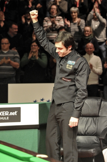 Exhausted Ronnie winner 2012