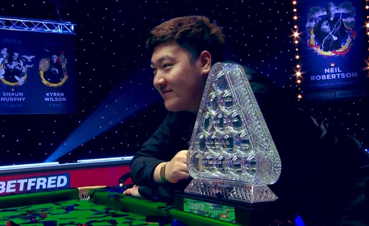 The Masters 2021 Yan Bingtao Is Your Champion Ronnie O Sullivan