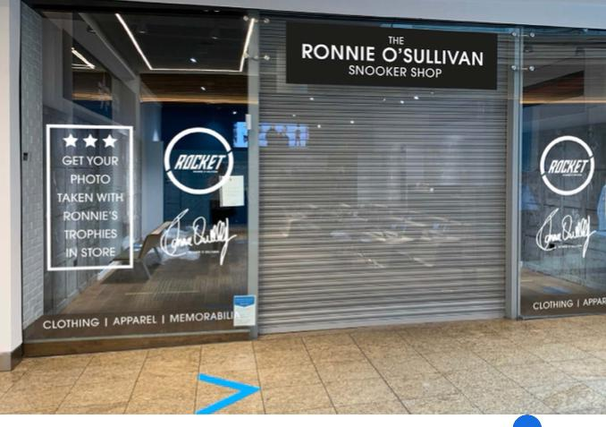 Ronnie'sSnooker Shop