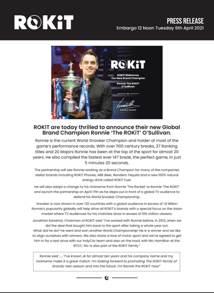 ROS ROKIT Announcement - 2