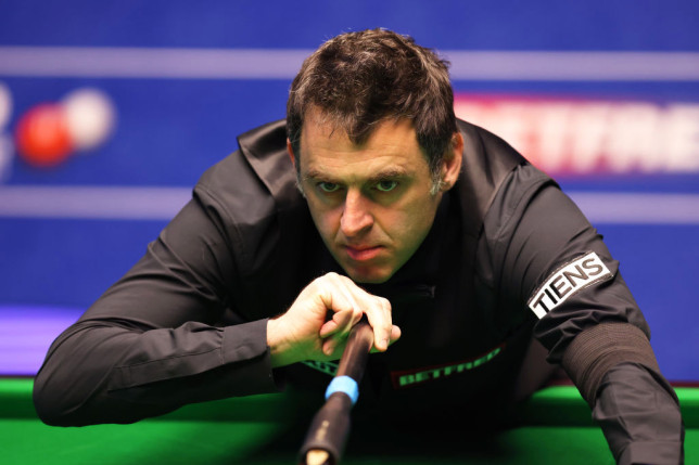 Ronnie Crucible 2021 gettyimages-1312939919