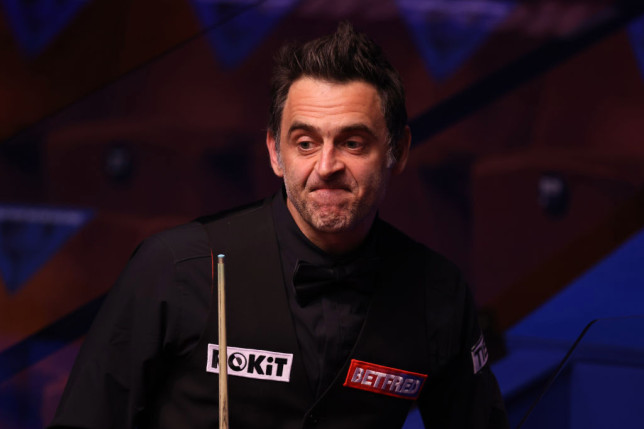 Ronnie Crucible 2021 gettyimages-1314071347
