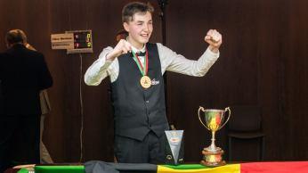 Koen Mertens U-18 2021 EBSA Champion