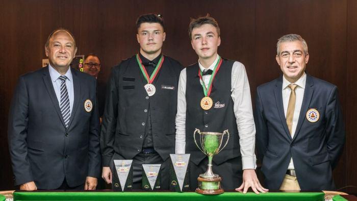 EBSA U-18 2021 - Finalist Ben Mertens and Julien Leclercq
